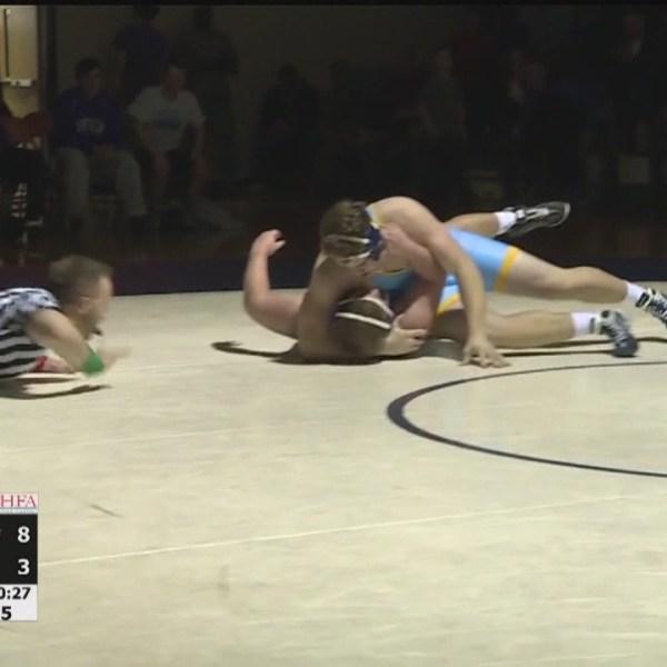 Cedar Cliff & Camp Hill wrestling get Thursday night wins