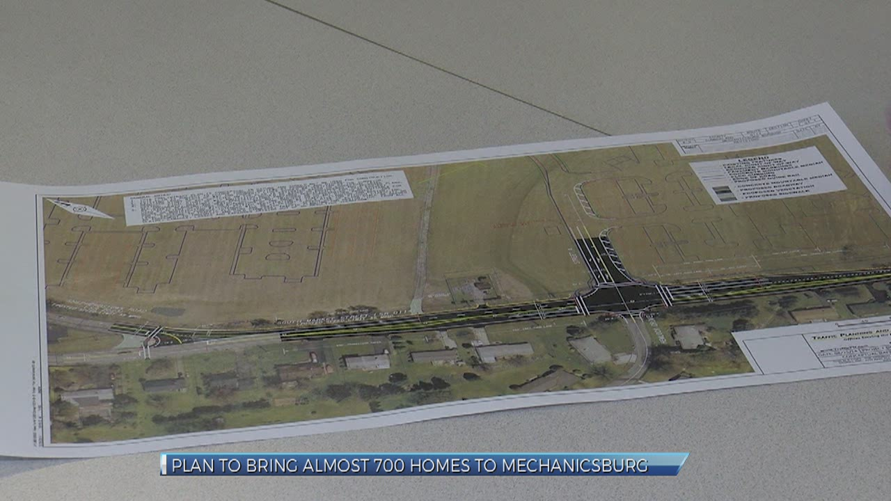 Plan to bring nearly 700 homes to Mechanicsburg