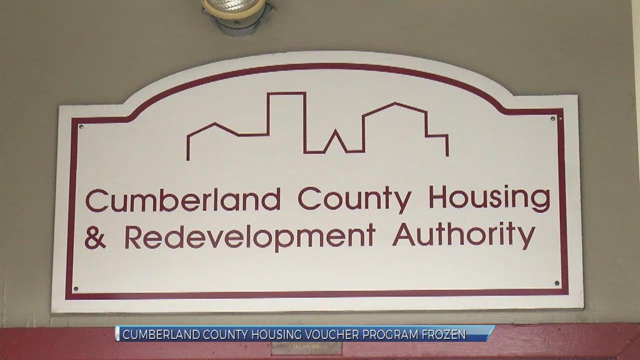 Housing voucher program frozen in Cumberland County