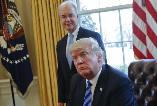 Donald Trump, Tom Price_608840