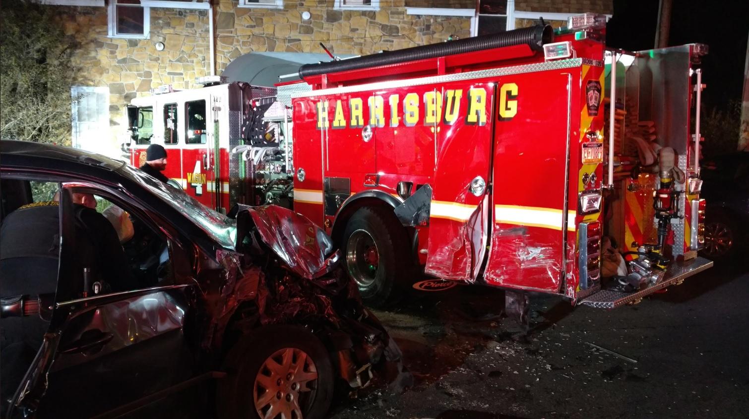 fire truck crash one_658921