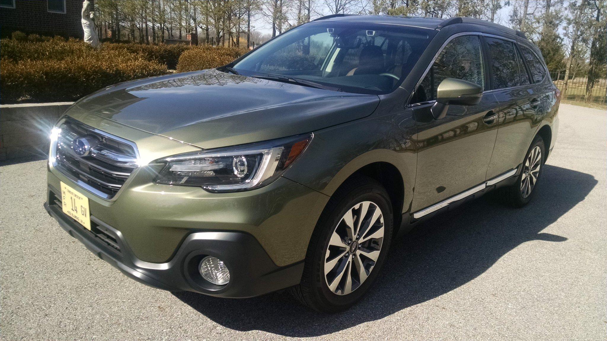 2018 Subaru Outback 2 5 i Touring