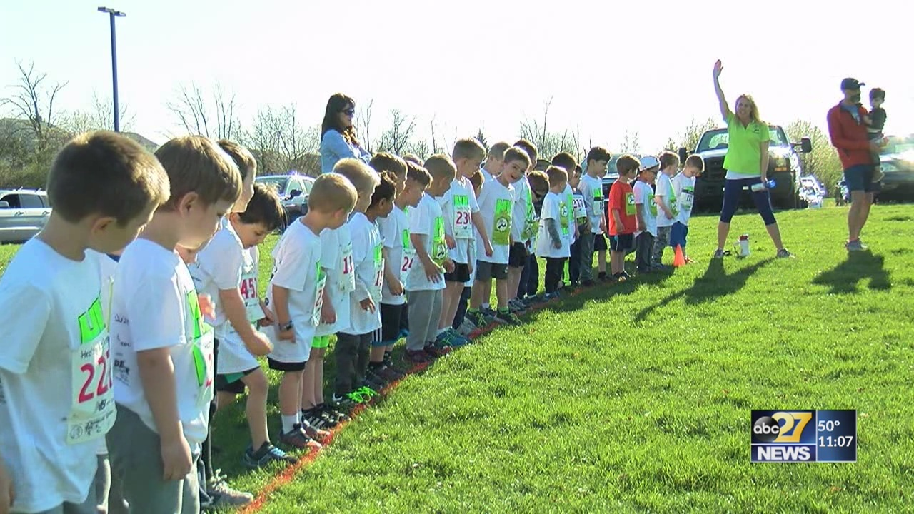 Midstate families have a blast at the Healthy Kids Running Series