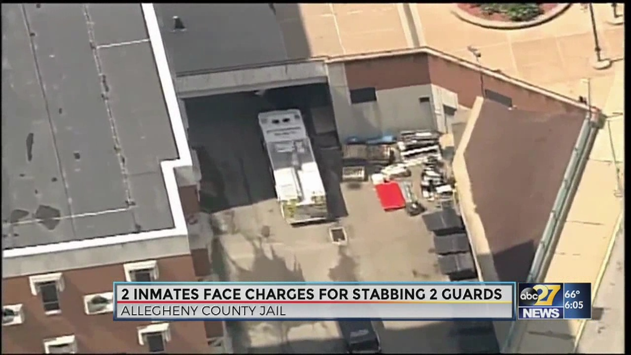 PA prison inmates face homicide charges after stabbing guards