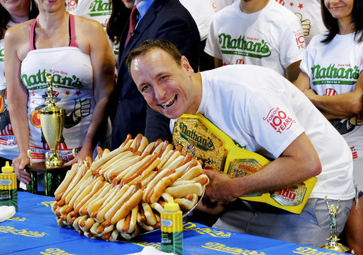 Nathan's Hot Dog Eating Contest Weigh-In_1530728603455
