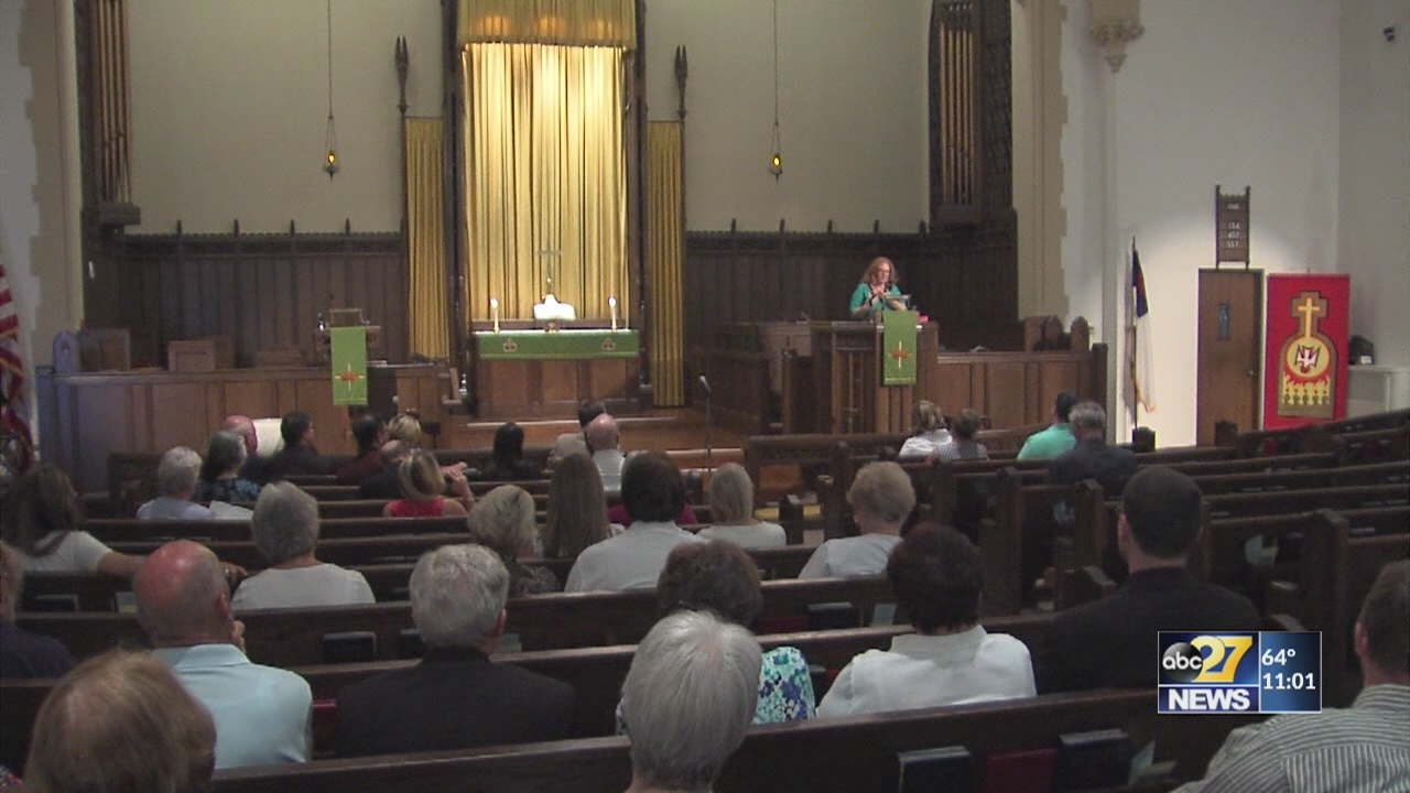 Churches unite for prayer vigil for sex abuse survivors