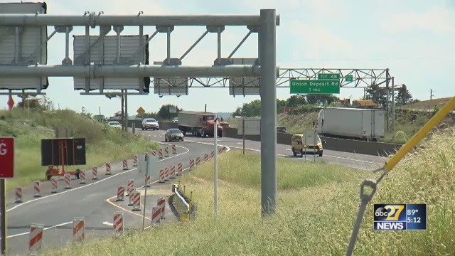PennDOT: I-83 construction in Dauphin County may take 10 years