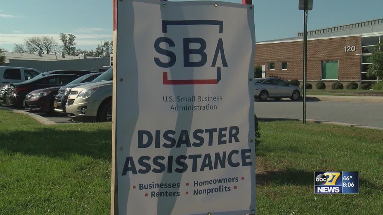 Disaster loan outreach centers to close in Lancaster, York counties