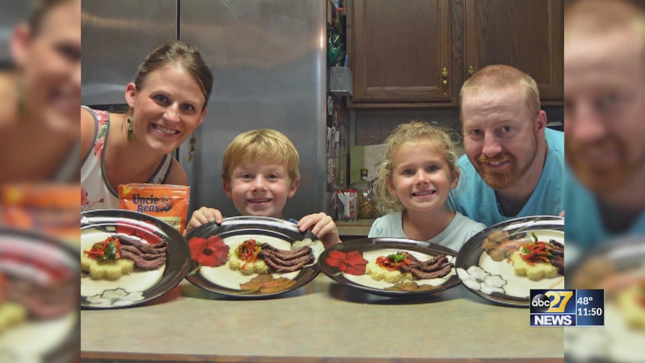 Votes can help local family win national cooking competition, prize is money for school