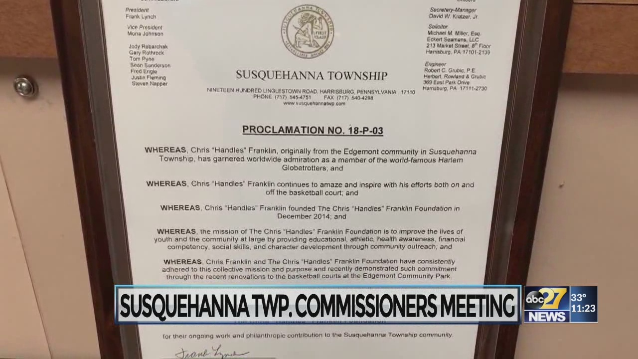 Susquehanna Twp  approves tax hike, honors several making a