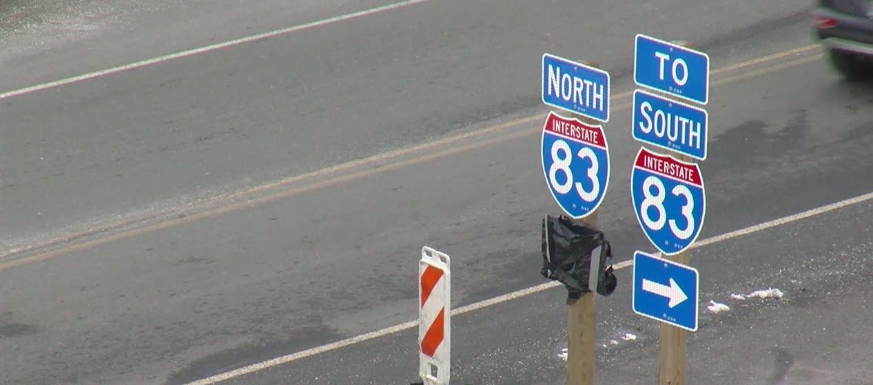 I-83 work to shift traffic, restrict lanes