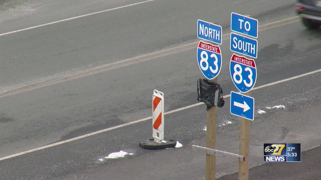 I-83 work to shift traffic, restrict lanes