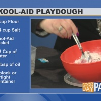 Kool-Aid Playdough demonstration