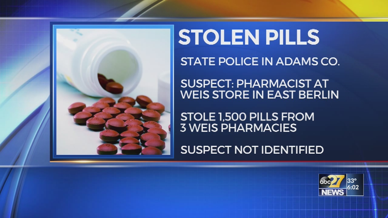 Police probe pill thefts at 3 Weis pharmacies