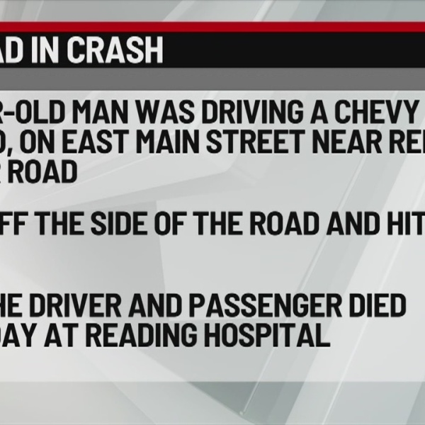Berks County Deadly Crash 2-24-19