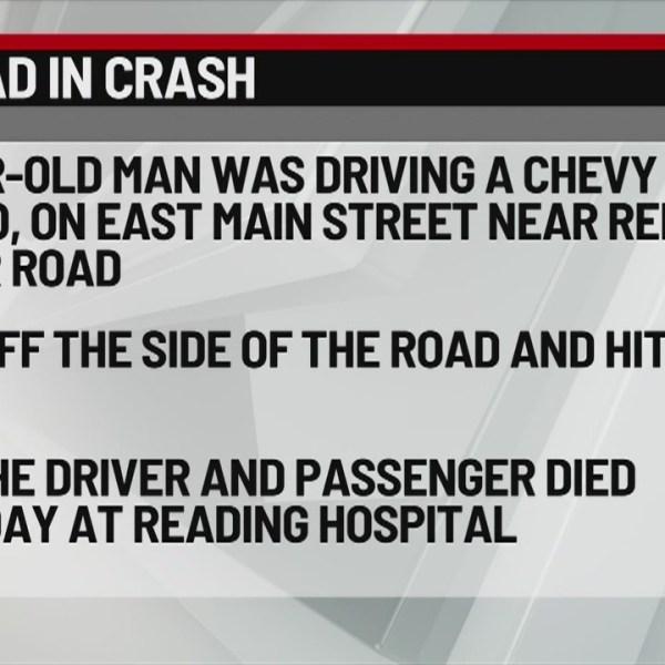 Berks County Deadly Crash 2-24-19