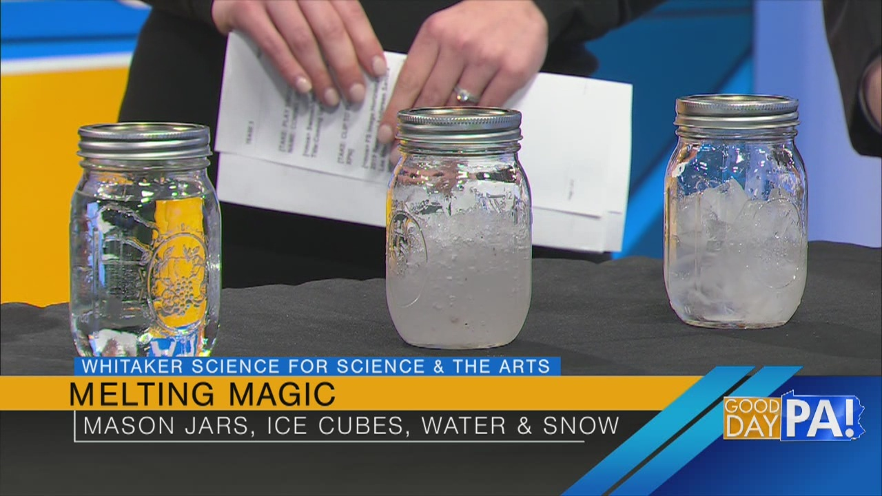 Melting Magic: A science experiment you can do at home