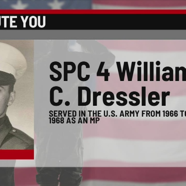 We Salute You: William C. Dressler