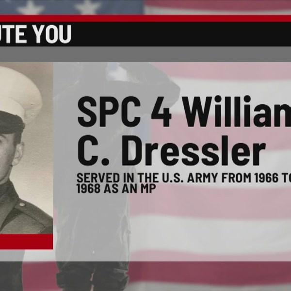 We Salute You: William C. Dressler
