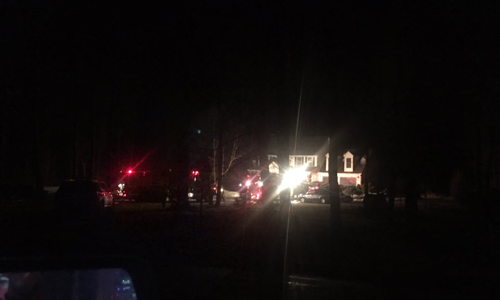 Crews battle overnight fire in York County