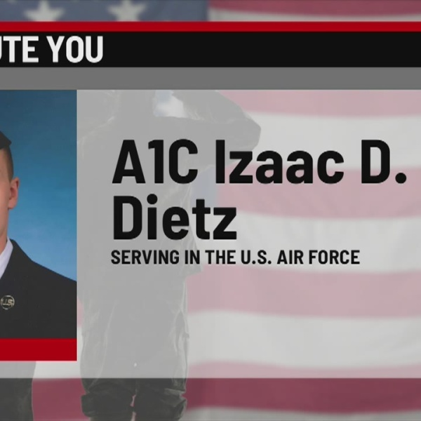 We Salute You: Izaac D. Dietz