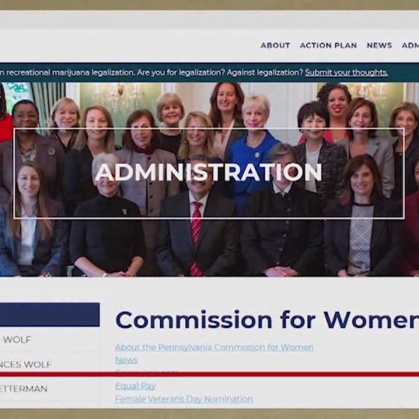 Women's commission has role in Pennsylvania politics