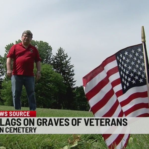 Annual tribute to fallen heroes at Rolling Green Cemetery