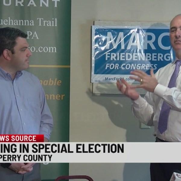 U.S. Sen. Bob Casey makes campaign stump in Perry County