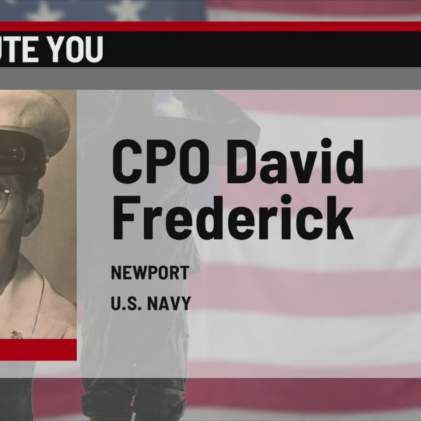We Salute You: David Frederick