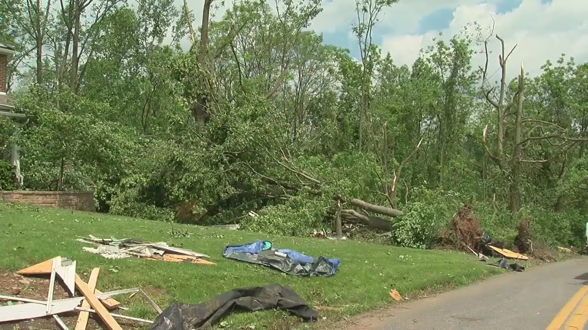 Weather service confirms tornado in Lancaster County