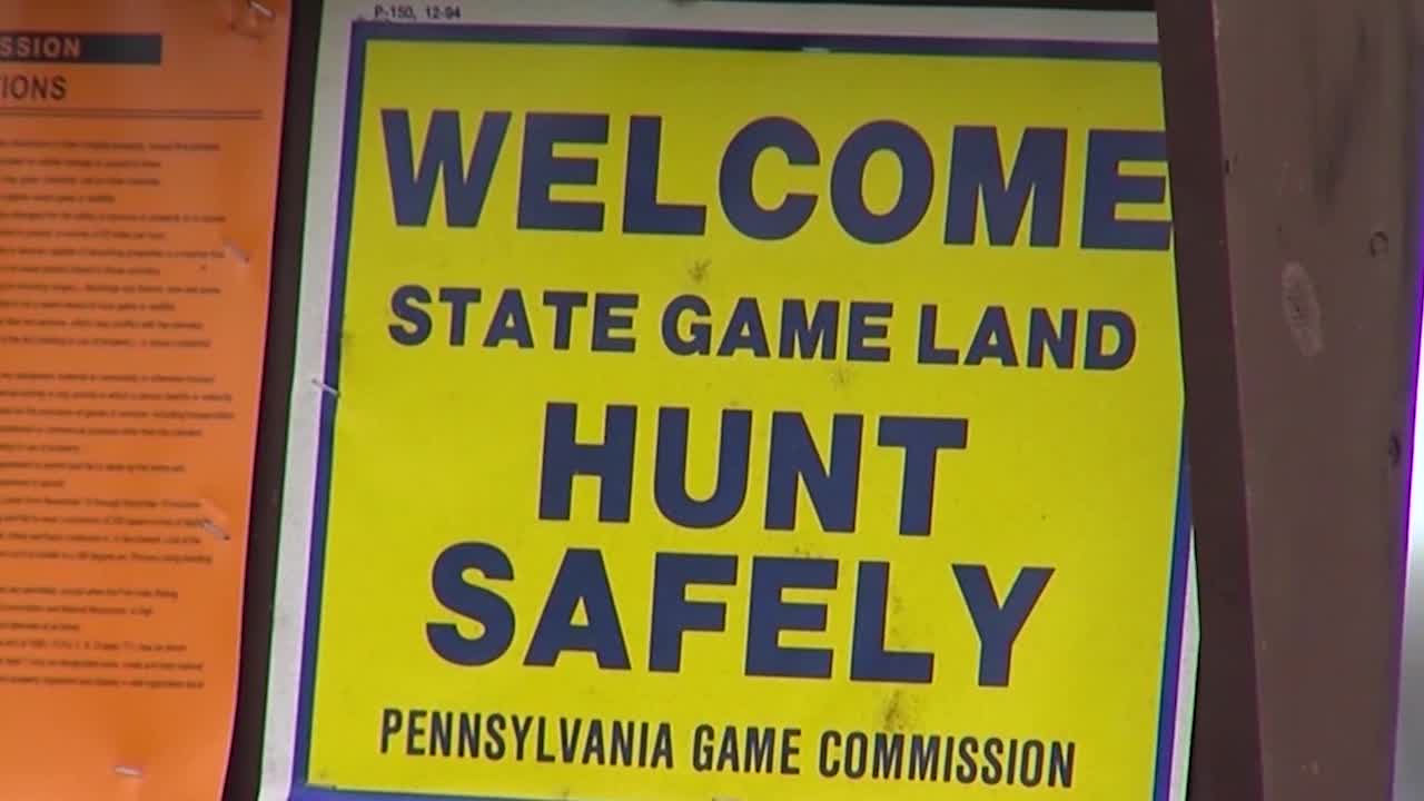 hunting state game lands