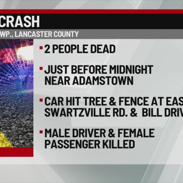 2 die in East Cocalico crash