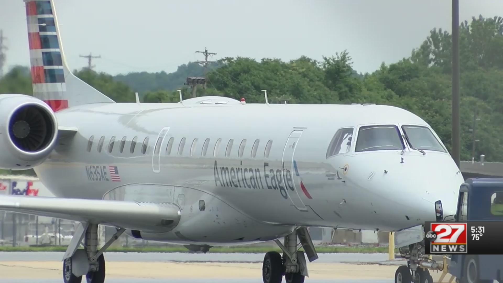 American Airlines, Allegiant add flights at Harrisburg International Airport