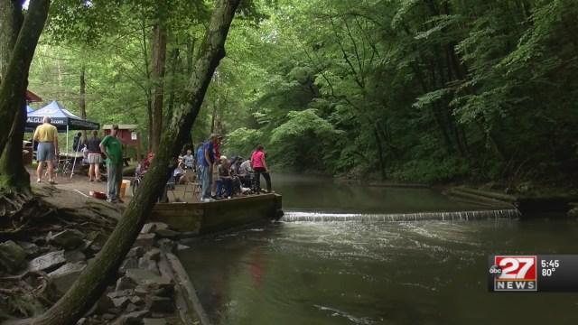 Veterans participate in annual Adjutant General Fishing Tournament