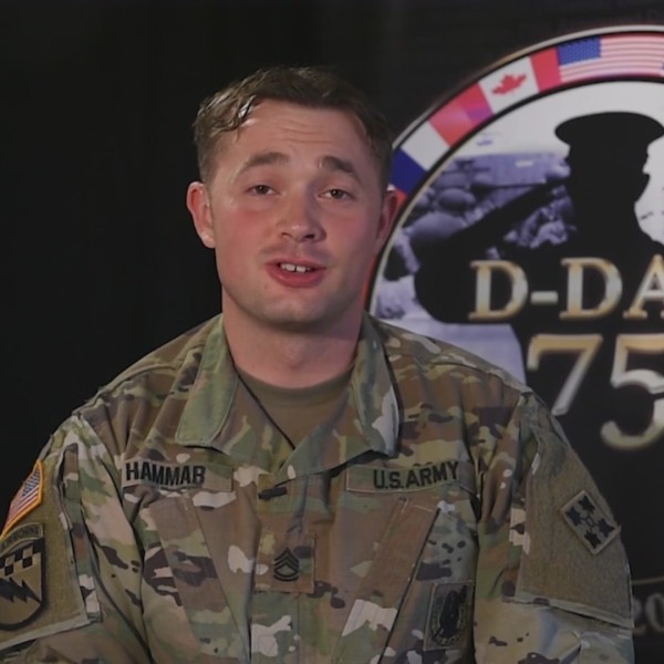 Local soldier has role in D-Day ceremonies