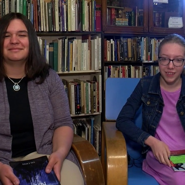 Middle school student and teacher each publish their first novel