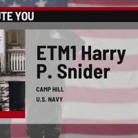 We Salute You: Harry Snider