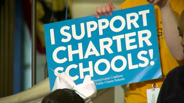 Group rallies against Wolf's proposals for charter school reform