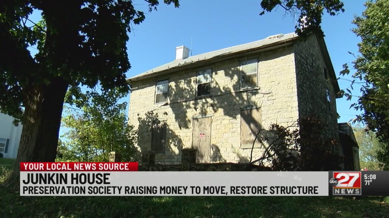 Preservation Society Raising Money To Move Junkin House