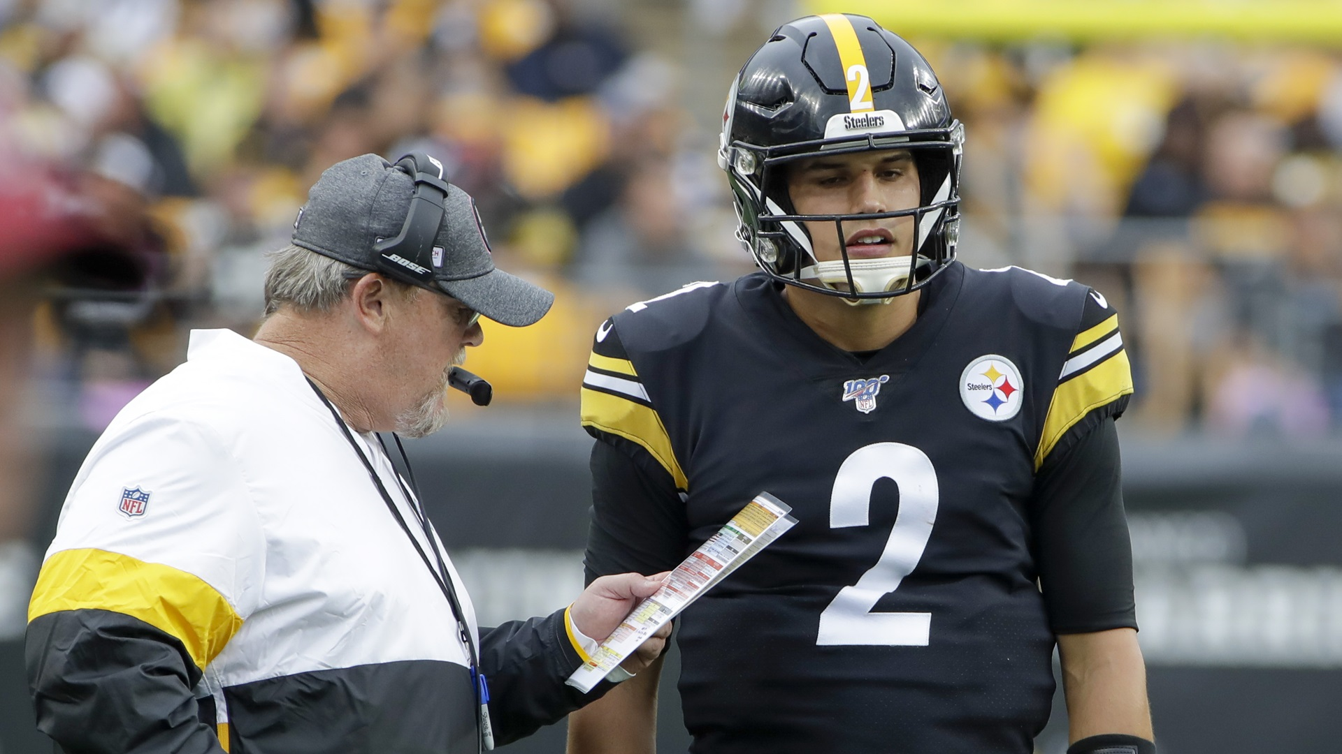 Steelers Qb Mason Rudolph Remains In Concussion Protocol Abc27