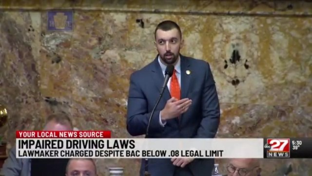State lawmaker charged with DUI