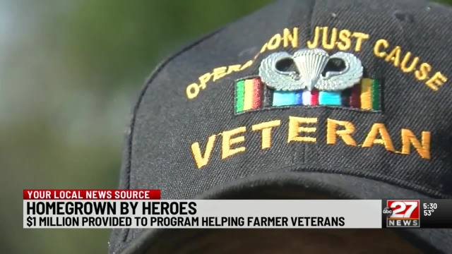 State boosts program to aid farming veterans