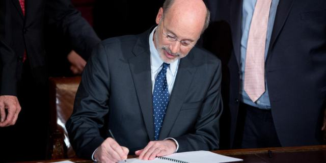 Wolf signs bill to assist nonprofit safety