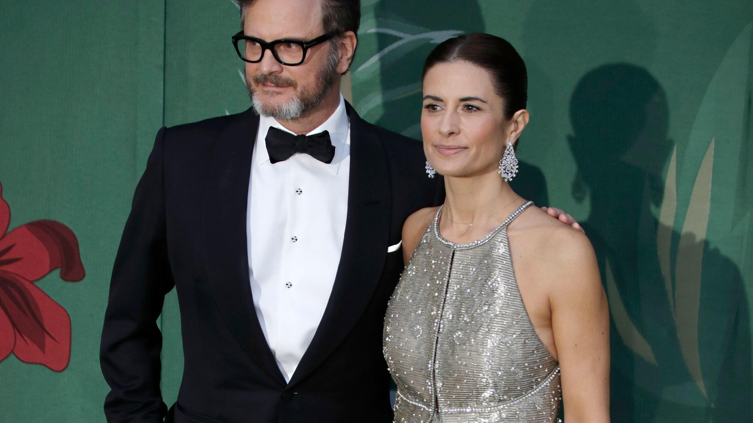 Colin Firth, Livia Giuggioli