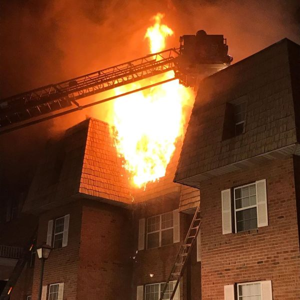 Lancaster Township Apartment Fire