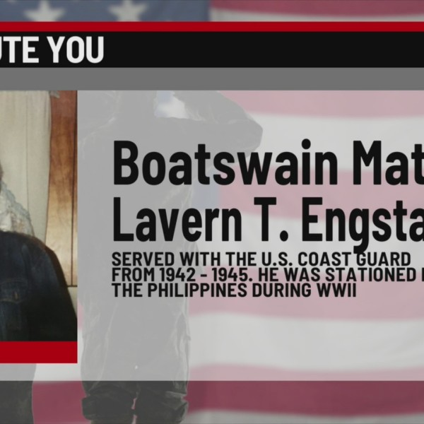 We Salute You Lavern T. Engstad