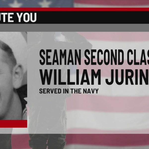 We Salute You William Jurina