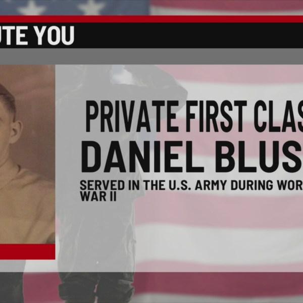 We Salute you Private First Class Daniel Blust