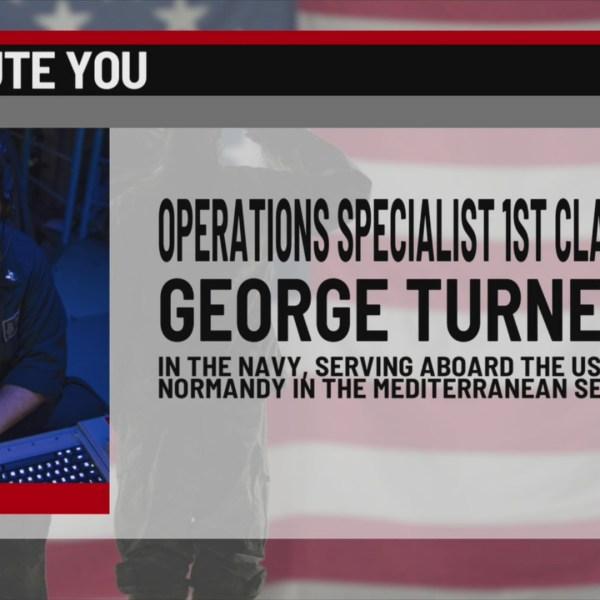 We salute you: George Turner