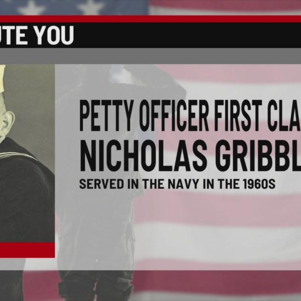 We salute you Nicholas Gribble